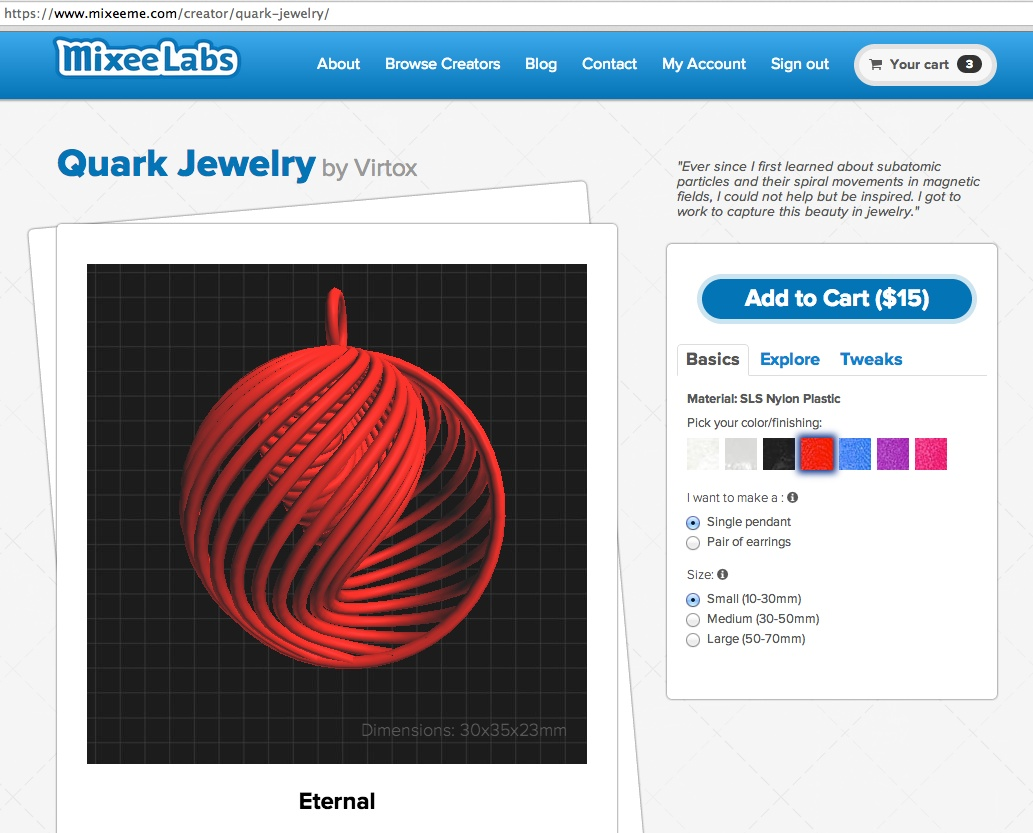 Quark Jewelry Creator